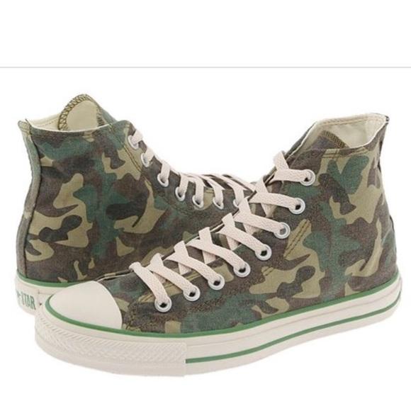 e306dac554bc Converse Shoes - Rare Faded Army Camo Print Converse